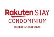 Rakuten STAY Condominium 東心斎橋 ロゴ