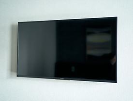 43インチの液晶テレビの画像