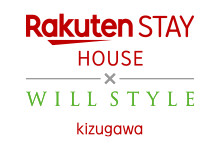 Rakuten STAY HOUSE × WILLSTYLE木津川 ロゴ
