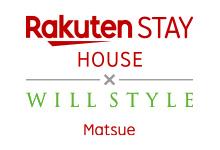 Rakuten STAY HOUSE × WILLSTYLE 松江 ロゴ