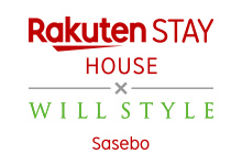 Rakuten STAY HOUSE × WILLSTYLE 佐世保 ロゴ