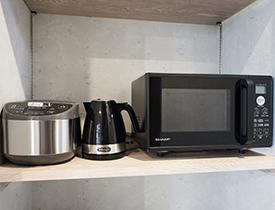 キッチン家電の画像