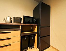 レンジ・炊飯器・冷蔵庫の画像